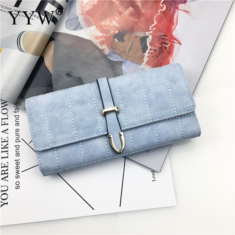Women Wallet Female Long Clutch Lady Walet Portomonee Rfid Luxury Brand Money Bag Magic Hasp Coin Purse Pu Leather Handbags