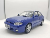 1:18 Diecast Model for Kia Maxima Blue Rare Alloy Toy Car Miniature Collection Gifts