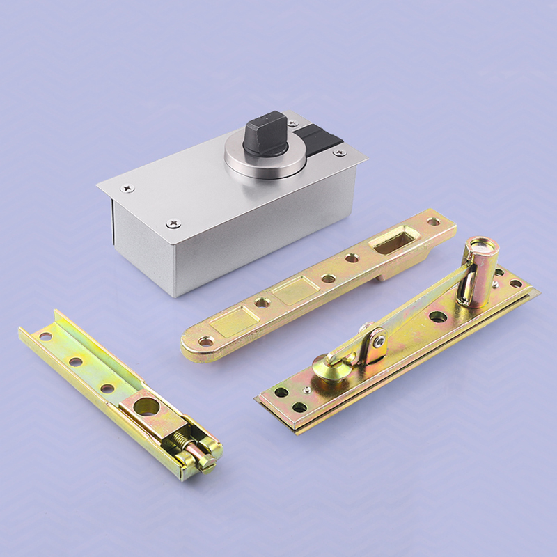 DHL Shipping 10Sets Heavy Duty Door Pivot Hinges 360 Degree Rotation Install Up and Down Load Bearing 300KG hot 2pcs stainless steel heavy duty pivot door hinges 360 degree up and down rotary hinges wood door hidden hinges