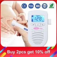 Cofoe Fetal Doppler Ultrasound Baby Heartbeat Detector Home Pregnant Doppler Baby Heart Rate Monitor Pocket Doppler 3.0MHz