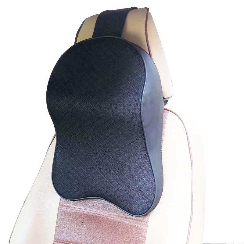 Автомобильная подушка для шеи с эффектом памяти подголовник поддержка s многофункциональная подушка для шеи и поясничная поддержка для автомобиля облегчение боли в шее головы