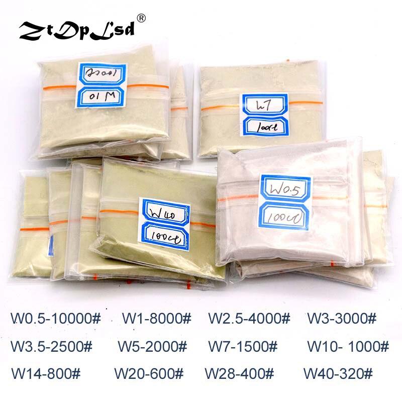 20g/1Pcs Grit 320~10000Diamond Powder Jade Polishing Handmade Processing Mirror Micro Micron Tools Gemstones Ceramics Carbide