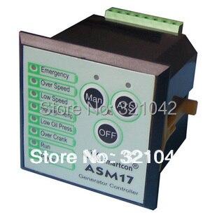 Diesel ASM17(replacement for GTR17) generator controller generator control panel gtr 17 asm17