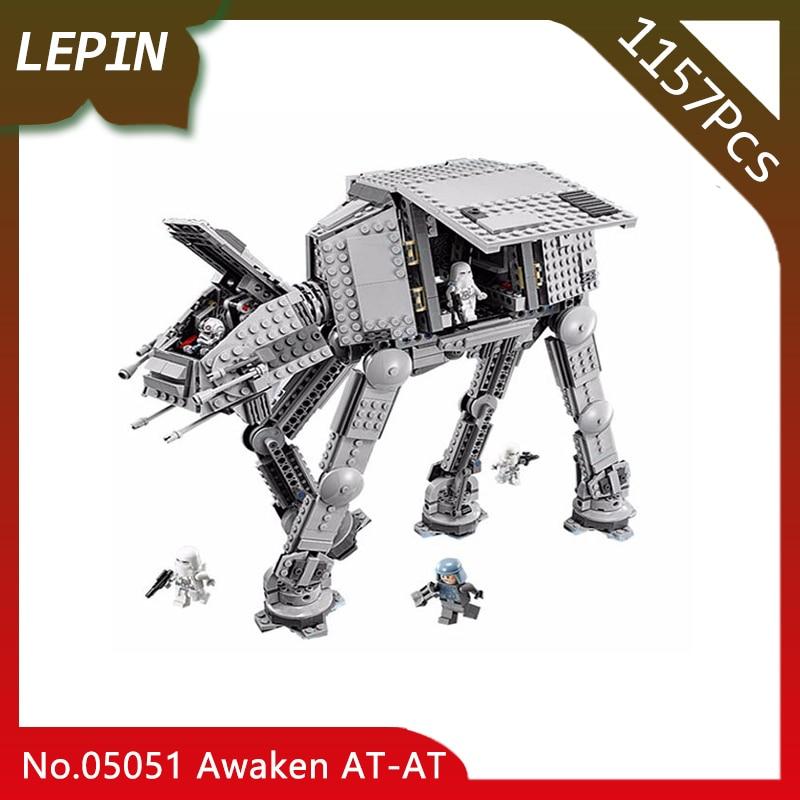 Lepin 05051 Force Toys Awaken The AT Model AT Transportation Armored Robot 75054 Star Series War 1157pcs Building Blocks Brick batman detective comics volume 9 gordon at war