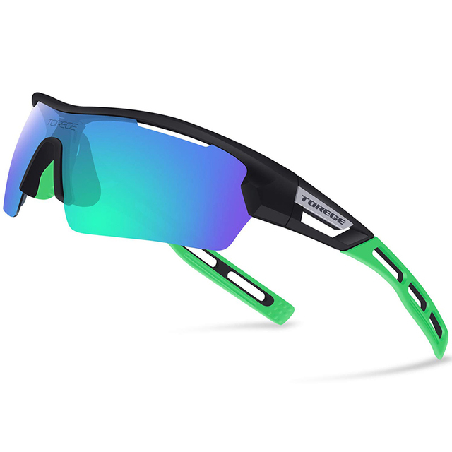 2019 Polarized Sports Sunglasses for Men Women Cycling Running Driving Baseball Brand Designer Fashion UV400 gafas deportivas