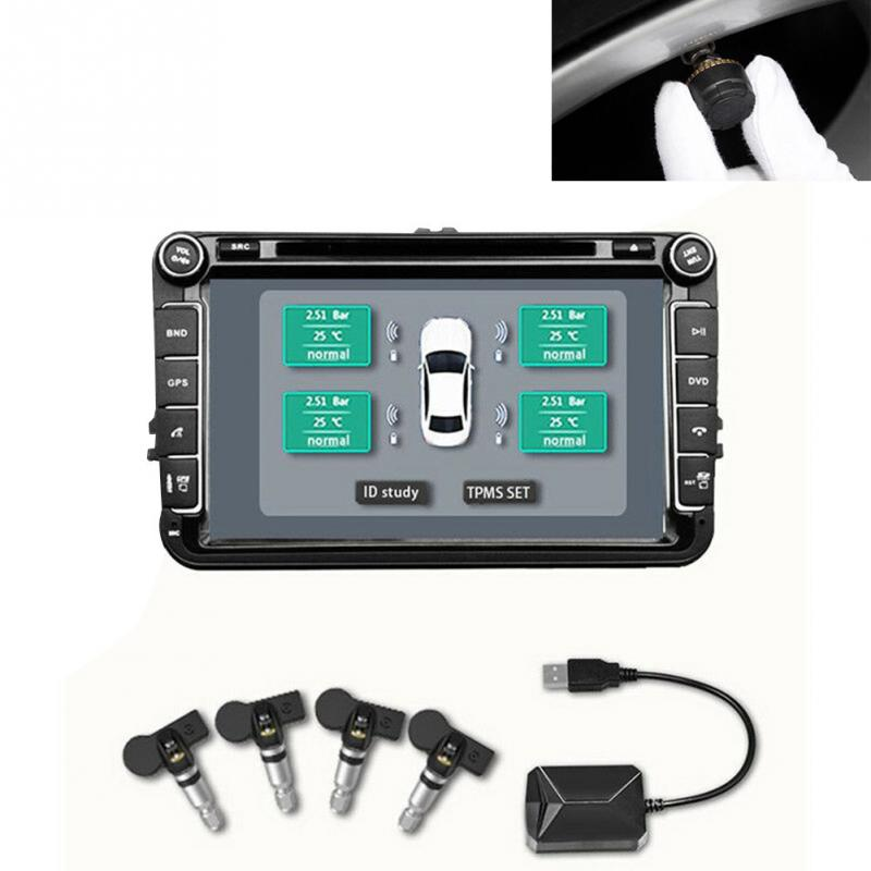 Easy Install Auto Alarm Digital USB TPMS Wireless For Android Vehicle Sensor Tool Module Transmission Tire