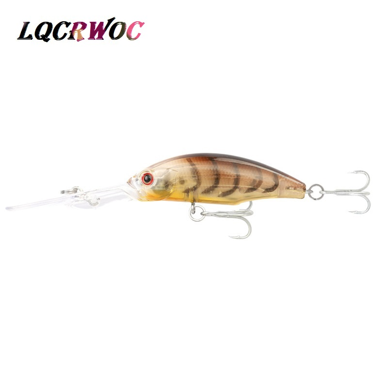 hot NEW 9 5cm 8g Minnow Fishing lure swing small Dive Hard bait deep diving lures High Quality vibration japan pesca crankbait in Fishing Lures from Sports Entertainment