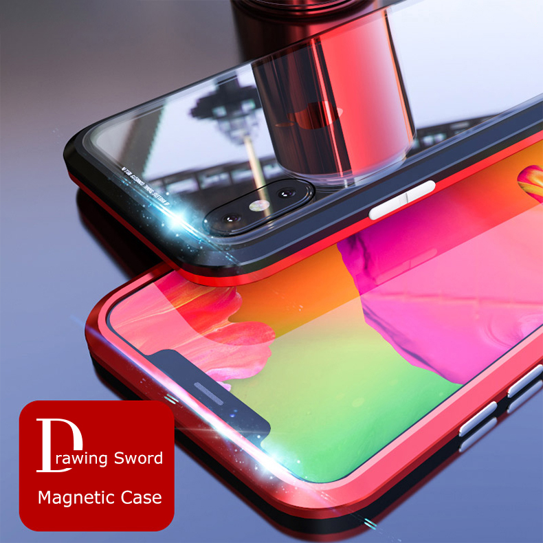 LUPHIE magnetic case for iPhone X XS Max XR 7 8 magnet case (6)