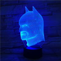 5V USB 3D Table Lamp Optical Illusion LED Light Night Lighting Household Accessories