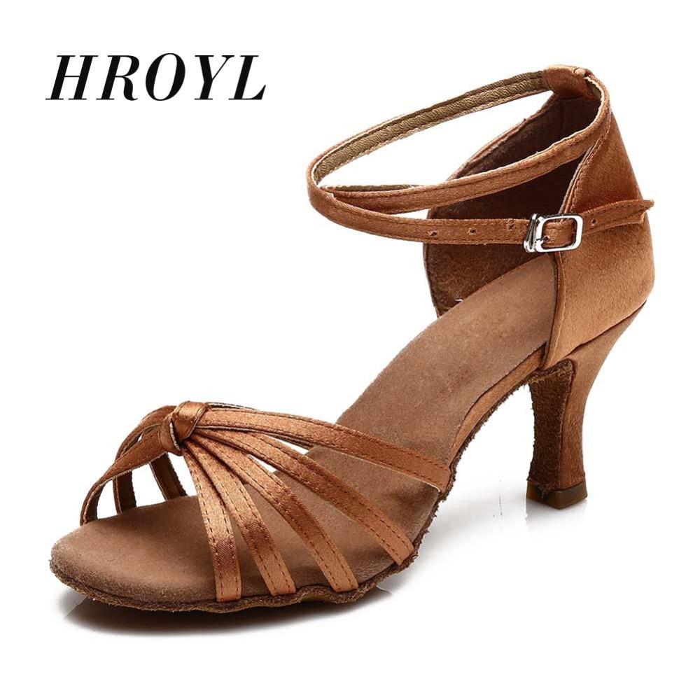 Hot Sale Women's Latin Dance Shoes /Ballroom Tango Salsa Daning Shoes For Girls Ladies Heels 5cm/7cm 11Corlors