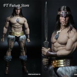 In Voorraad Collectible MT2018-02 1/6 Soldaat Conan Hoofd Carving Kostuum Groep Ano Edition Model voor 12 ''Action Figure M35 body