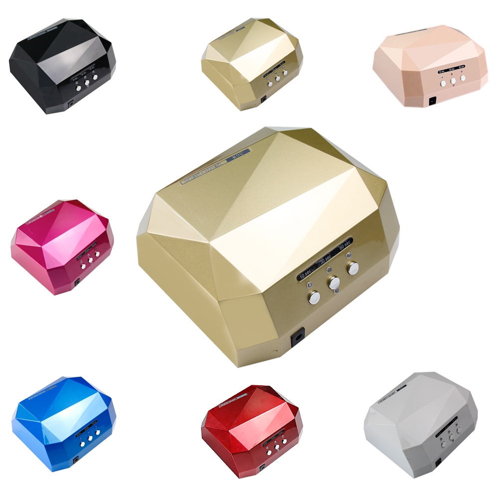 36W LED CCFL Nail Dryer Curing Lamp Machine for UV Nail Art Gel Polish