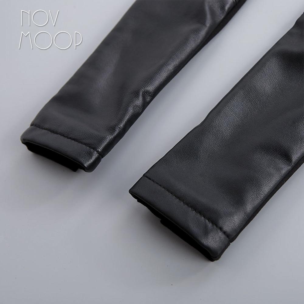 Pic Libre Lt801 Pantalon Cuir Agneau Pantalones Véritable Bateau Noir Mujer Moulant Spliced Pantalons Femme Per Stretch 100 Black RqxT6wx