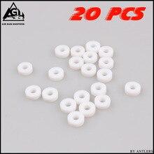 PCP насос высокого давления PE M10 уплотнительное кольцо уплотнительное уплотнение для мини манометра pcp ручной насос C гнездовой разъем 20 шт
