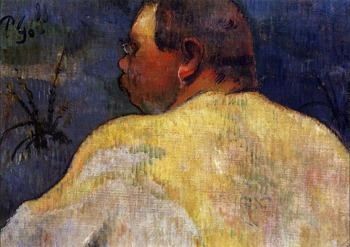 High quality Oil painting Canvas Reproductions Captain Jacob (1888) by Paul Gauguin hand painted