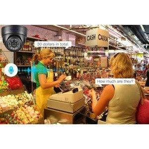 Image 3 - كاميرا IP من الأداة 5 ميجابكسل 2592*1944P سوني IMX335 رؤية ليلية صوت ميكفون قبة 3 ميجابكسل 2MP كاميرا مراقبة أمان PoE عالية الوضوح بالكامل
