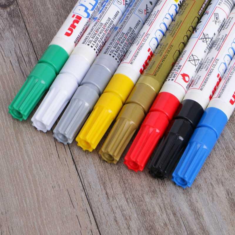 قلم طلاء أقلام نصائح غرامة مقاوم للماء الفن دائم النفط القائمة DIY بها بنفسك الحرفية ديكور