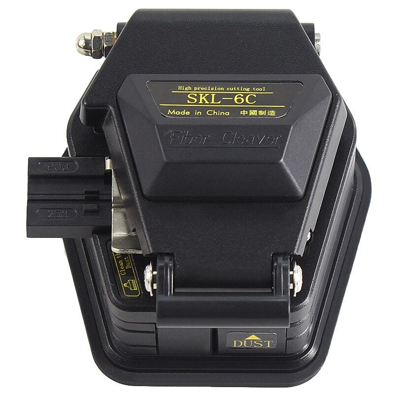 Новый волоконно Кливер SKL-6C кабель нож FTTT оптическое волокно Нож Инструменты Резак Высокая точность волокна кливерс 16 поверхности лезвия