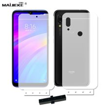6D Front+Back Soft Hydrogel Film For Xiaomi Mi 9 se 8 mi 9t Mix 2S Redmi 8 8A 7 note 8 pro K20 pro note 7 pro Screen Protector(China)
