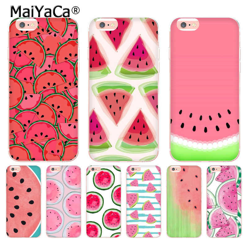sneakers for cheap 90628 8b3aa MaiYaCa Fruit watermelon melon Colors Luxury phone case for Apple iPhone 8  7 6 6S Plus X 5 5S SE 5C 4 4S Cover XS XR XSMAX