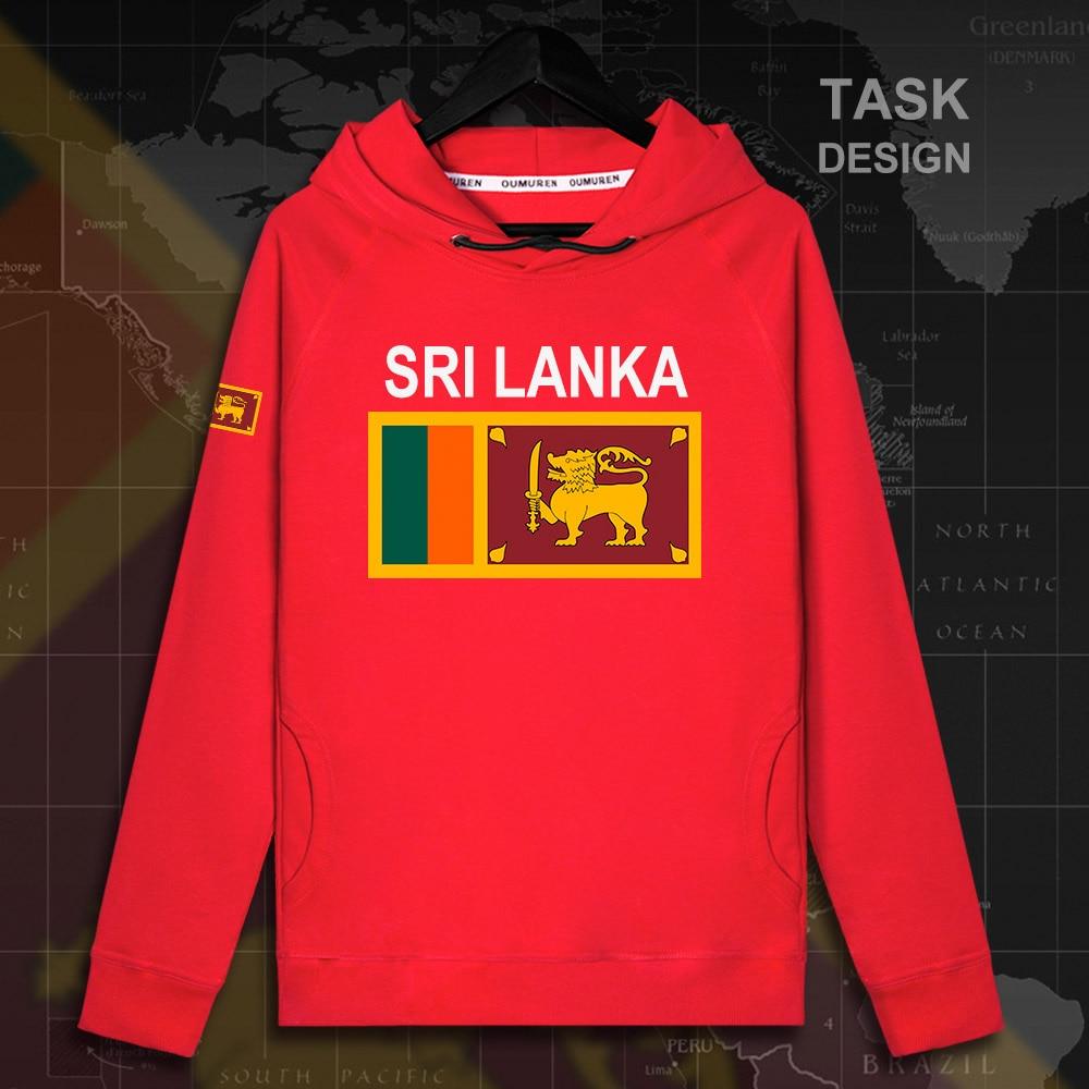 Sri Lanka Lankan LKA Ceylon Mens Hoodie Pullovers Hoodies Sweatshirt Streetwear Clothing Hip Hop Tracksuit Nation Flag Coat 02