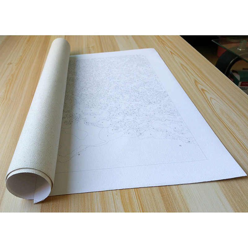 فرملس 50x40 سنتيمتر دهان داي بواسطة أرقام المشهد على قماش الحصان الراكض النفط لوحات لغرفة المعيشة جدار ديكور فني للمنزل