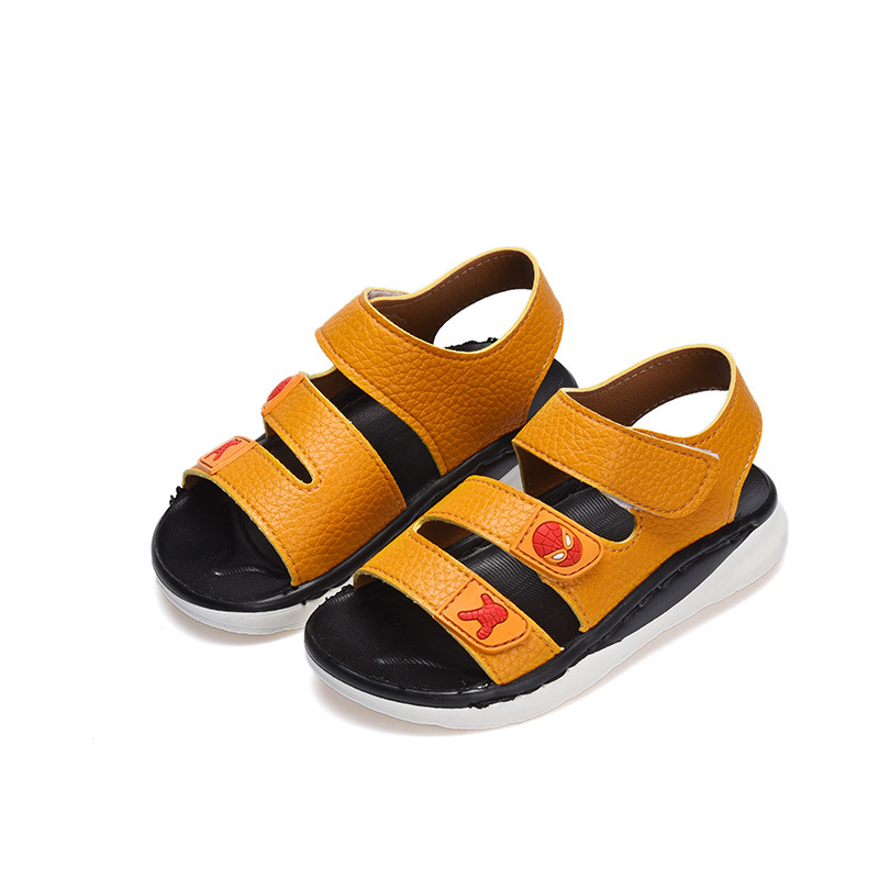 Boys Summer Shoes Childrens Shoes Good Quality Leather kids Shoes Sandals Toddler Baby Soft Sandals