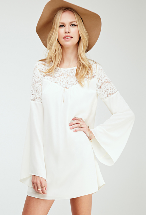 White Dress Blouse - Fn Dress