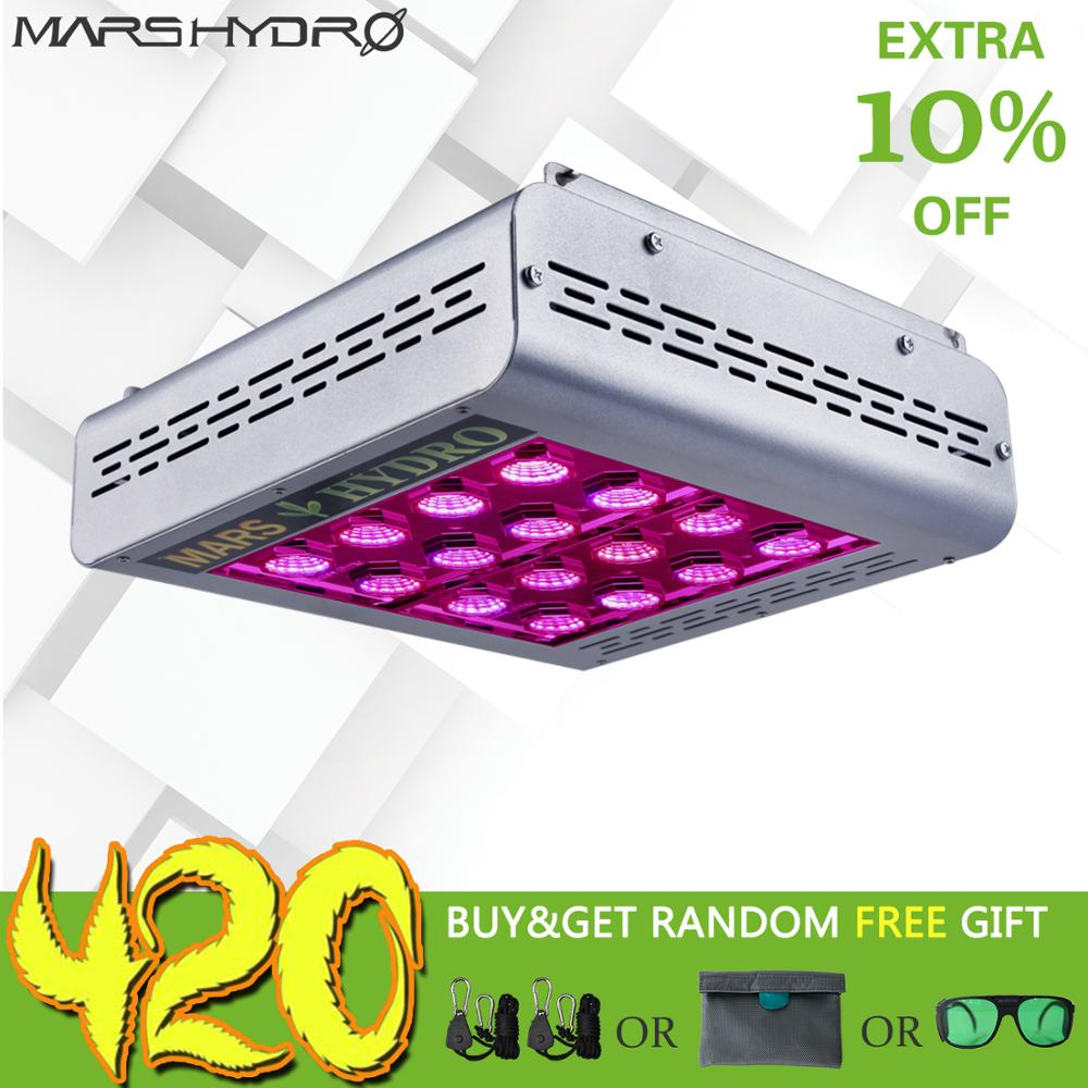 Mars Pro II Epistar LED Grow Light 400W Growing Lamp Indoor Medical Plant Full Spectrum for