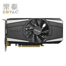 Zotac original GTX1050-2GD5 trovão gpu placa de vídeo 128bit gp107 gtx 1050 2gb gddr5 placas gráficas mapa geforce gtx 1050 usado