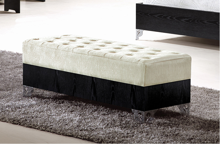 Pakistan Furniture Modern Bed Design Black With White Bedroom Set