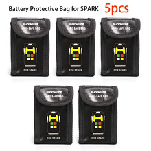 SPARK 5pcs LiPo Safe Bag Battery Protective Storage Explosion-proof for DJI
