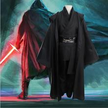 Star Wars Jedi Knight Obi Wan Kenobi Cosplay Costume Cloak Set цена 2017