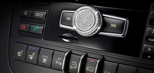 Car volume knob decoration/volume decoration Knob sticker Fit for Mercedes Benz A B E GLK CLS GLA CLA GLE ML GL class