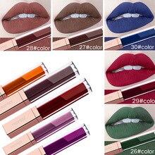 29 Color Matte Lipstick Waterproof Long Lasting Lipstick Liquid Lip Gloss Matte Red Lips Lip Makeup Lipstick Set nyx professional makeup matte lipstick 29 цвет 29 sable variant hex name 91583b