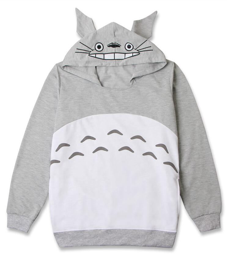 New Anime Manga My Neighbor TOTORO Hoodie Cosplay Clothes Sweater Thin 01 In Boys Costumes From Novelty Special Use On Aliexpress
