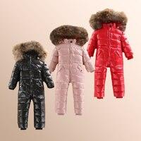 新しい子供ダウンジャケットアウト服冬スキー服冬ジャケット用女の子子供アウター冬のジャケットコート