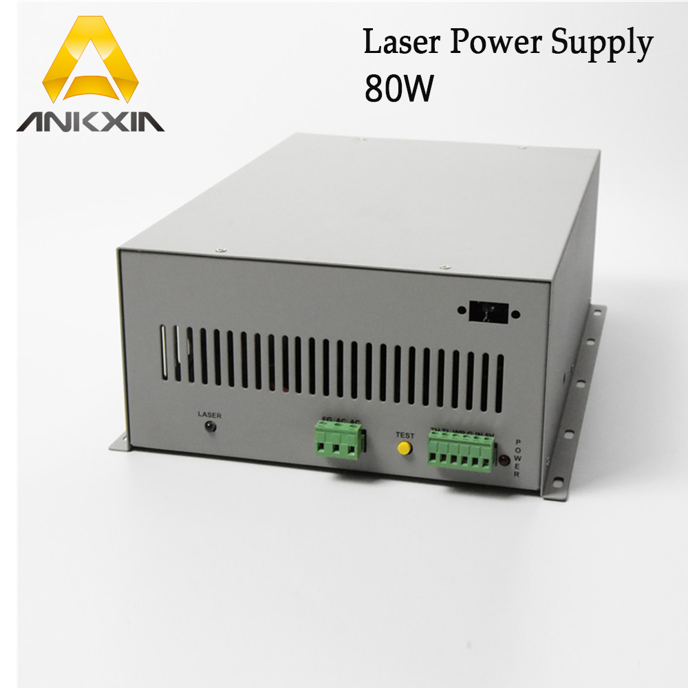 80W CO2 Laser Power Supply for CO2 Laser Engraving Cutting Machine-in Woodworking Machinery Parts from Tools    1