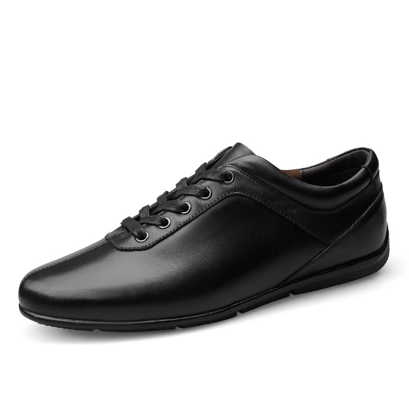 Plus Size Genuine Leather Men Casual Shoes Lace Up Male Flats Shoes Luxury Comfortable Man Fashion Soft Sneakers hot sale fashion comfortable men casual shoes soft genuine leather high top zipper thick sole heighten man shoes size 38 44