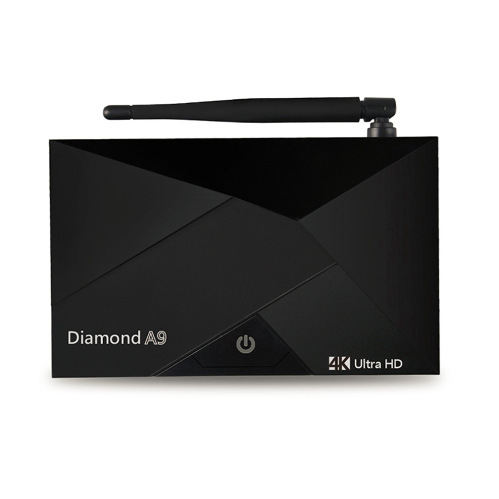 ФОТО Diamond A9 Wireless Bluetooth S912 Octa-Core Home TV Box Top 2G+16G Large Capacity Home Entertainment Device For Android 6.0