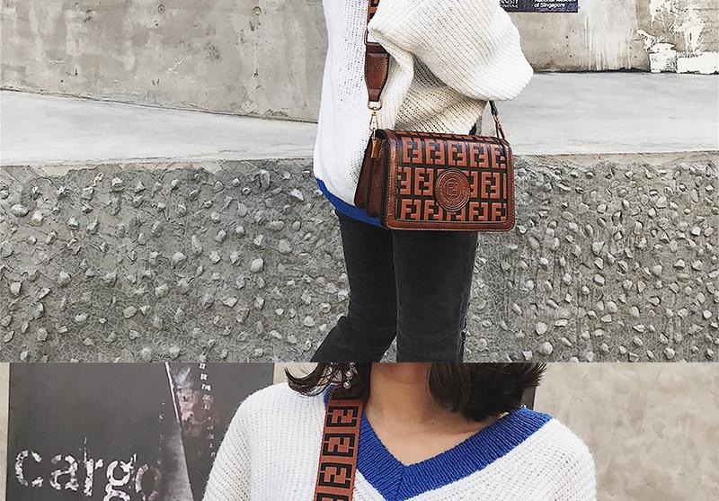 2019 Sac Femme Luxury Handbags Women Bags Designer Leather Crossbody Bag For Women Shoulder Bag Ladies Messenger Bags Letter (10)