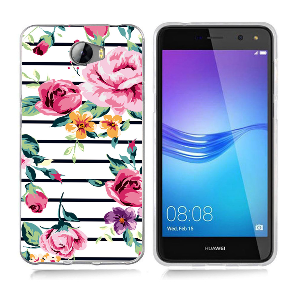 Case For Huawei Honor 5A LYO-L21 / Y6 II Compact / Y5 II Y5II Case <font><b>0682</b></font> Soft TPU Silicone Phone Cover image