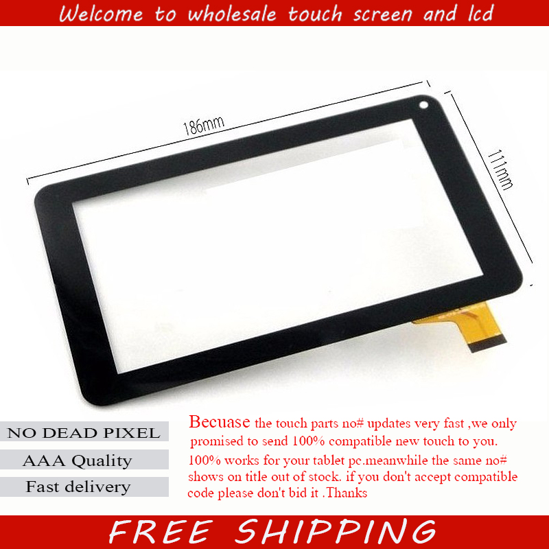 New touch screen Digitizer 7 inch QUMO Altair 71 Tablet Touch panel Glass Sensor Replacement for qumo altair 705i tablet capacitive touch screen 7 inch pc touch panel digitizer glass mid sensor free shipping
