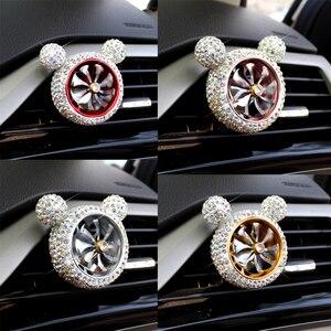 Image 1 - 1 шт., Кристальный автомобильный освежитель воздуха, автомобильный освежитель воздуха, освежитель воздуха, зажим для кондиционера, автомобильный Ароматический диффузор, твердый парфюм