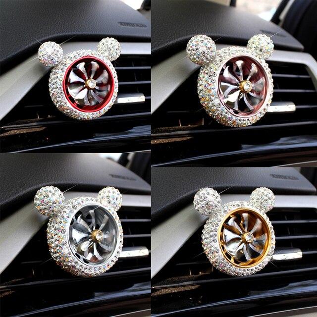 1 шт., Кристальный автомобильный освежитель воздуха, автомобильный освежитель воздуха, освежитель воздуха, зажим для кондиционера, автомобильный Ароматический диффузор, твердый парфюм