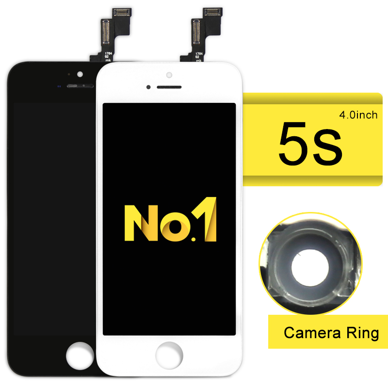 Alibaba china highscreen for iPhone 5S 5G 5C LCD Dispaly screen Digitizer Assembly with Glass Replacement +Camera holder 10pcs highscreen brand new aaa quality lcd for iphone 5 screen with digitizer assembly camera holder