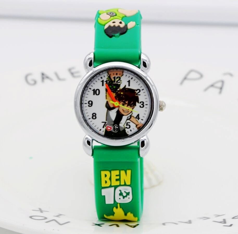Kids Watches 3D Fashion Ben10 Watches Children Kids Boys Gift Watch Casual Quartz Wristwatch