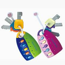 Baby Toy Musical Car Key Vocal Smart Remote Car Voices Prete