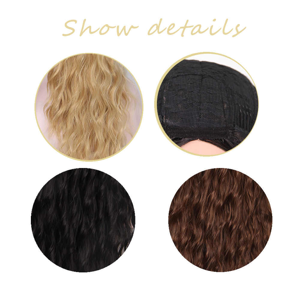 """I's a wig 30 """"синтетические красные черные темно-коричневые и Омбре светлые волосы длинные парики для женщин"""