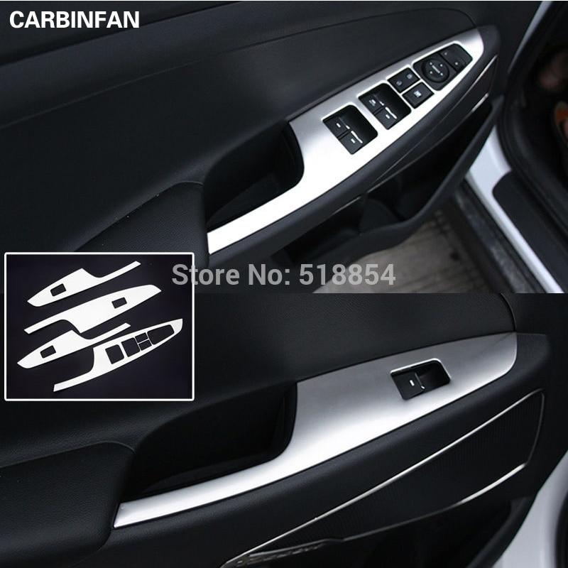Buy Accessories For 2015 2016 Hyundai Tucson Tl Chrome Interior Door Window